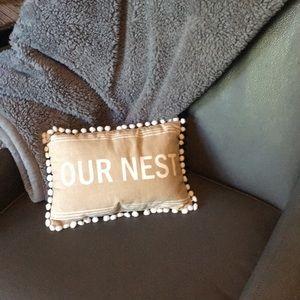 Newlywed pillow